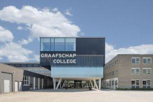 Graafschap College te Doetinchem - Uitbreiding entreegebouw bij huidige locatie